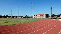 Roosevelt Middle School Running Track, Soccer Field and Fiel