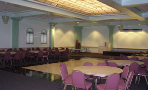 Martin Luther King Transit Center Dining Room and Kitchen