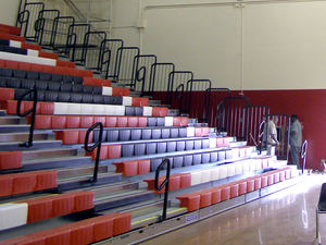 Centennial High School Bleachers