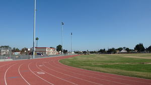 Roosevelt Middle School Running Track, Soccer Field and Field Lights
