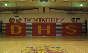 Dominguez High School Bleachers